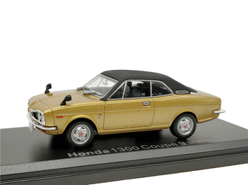1:43 Honda 1300 Coupe 9 1970 pres döküm model araba