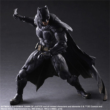 OYUN SANATLARI Justice League 25 cm Film Batman vs Superman Batman Işareti Action Figure Modeli Oyuncaklar